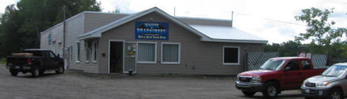 White & Bradstreet Inc.'s customer service building